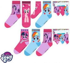 Skarpetki My Little Pony 23-26, 3 pak