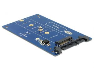 ADAPTER SATA 22PIN->M.2 NGFF DELOCK 62559